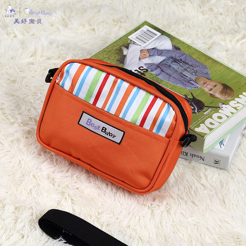 Diaper Bag Mini Multi-functional Crossover Shoulder Bag/hand Bag Infant Diaper Bag Light Mom Mom And Baby Suspender Strap Wallet