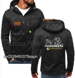 2019 nova moda hip hop r1200gs hoodies motocicleta motorsport r1250gs r 1250 gs r 1250gs zíper camisola com capuz casaco superior