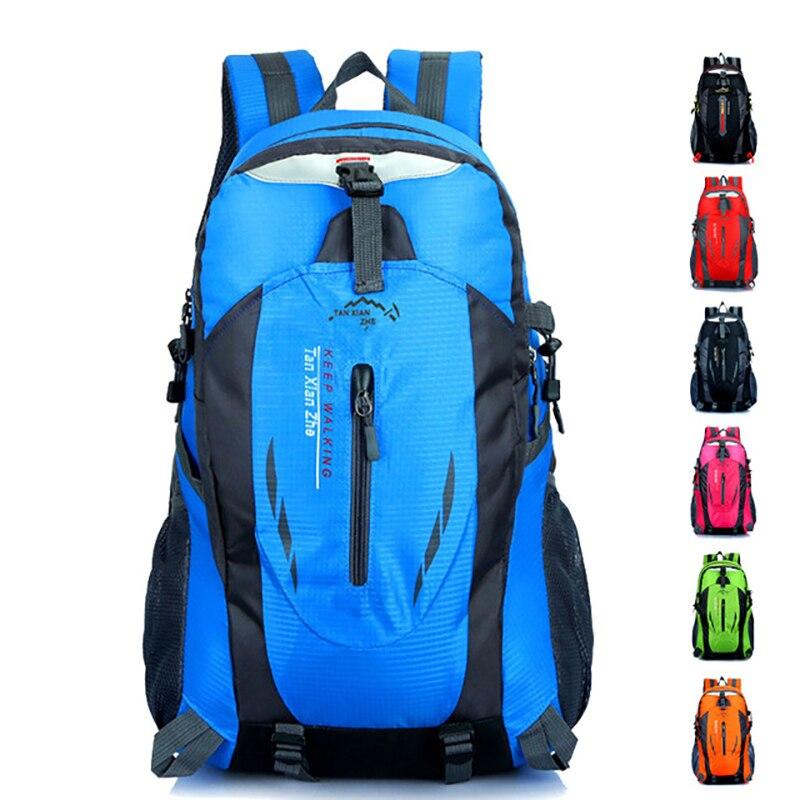 Men Bag Outdoor Hiking Day Pack Casual Woman Mountaintop Backpack Fishing Big Capacity Waterproof Dustproof Travel Backpack