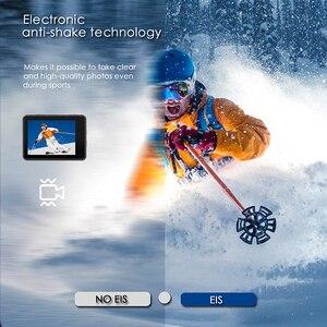 """Image 4 - Câmera de ação h10 eis anti vibração ultra hd 4k/60fps wifi 2.0 """"170d subaquática câmera capacete vedio go sport pro veio"""