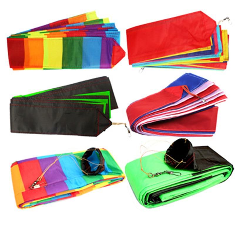 10M / 15M Kite Tail Rainbow Kite Triangle Kite Stunt Kite Accessories Toy Children Outdoor Recreation Sports Kite Long Tail
