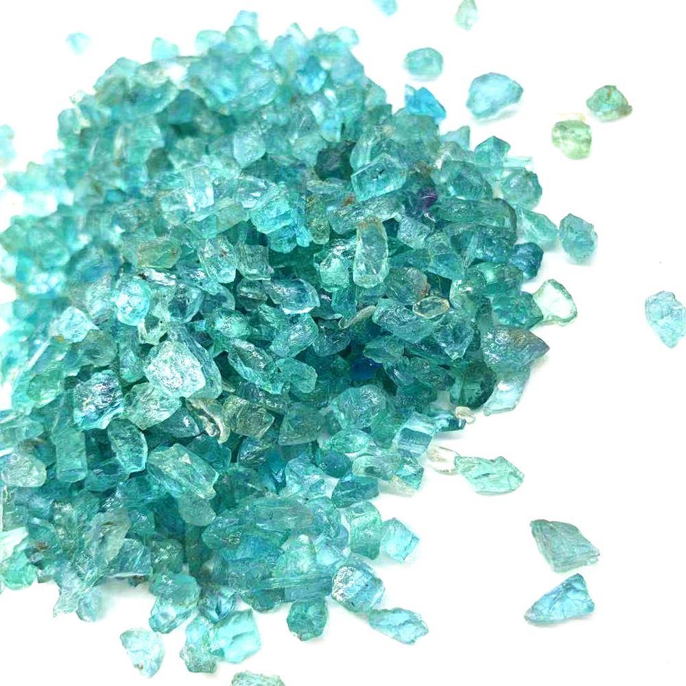 Haute qualité naturel bleu Apatite puces cristal pierre gravier TumbleCrystal pierre