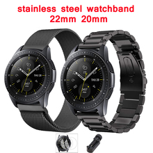 stainless steel Strap for samsung galaxy watch active gear S