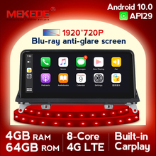 MEKEDE HD Android 10 Auto DVD Player für BMW X5 E70/X6 E71 (2007 2013) CCC/CIC System Einheit PC Android Navigation Multimedia IPS