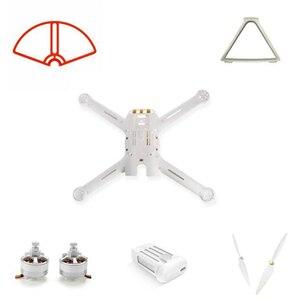 Image 1 - Mi Drone 4k 버전 예비 부품 Baldes 프레임 세트 랜딩 모터 바디 쉘 배터리 프로펠러 가드 WIFI 수신기