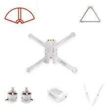 Mi Drone 4k wersja części zamienne Baldes zestaw ramek silnik lądowy obudowa silnika osłona śmigła odbiornik WIFI