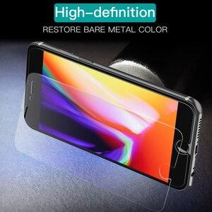 Image 3 - Protector de cristal templado para pantalla de móvil, película protectora de vidrio para iPhone 12, 11 Pro, X, XS, Max, XR, 7, 8, 6, 6s Plus, 5, 5S, SE, 2020, 3 uds.