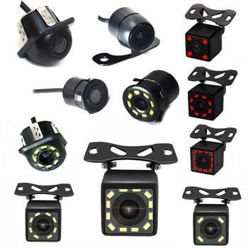 Backup Parking tylna kamera samochodowa uniwersalna 12 widzenie nocne LED wodoodporna 170 szerokokątny kolor HD obraz do monitora tanie i dobre opinie BYNCG CN (pochodzenie) Plastikowe + Szkło Drutu Tył Z tworzywa sztucznego Parking Sensors Parking Sensor System 170 degree