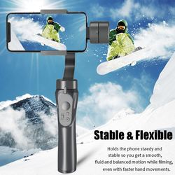 3 Axis Handheld Gimbal Stabilizer for Smartphone For iPhone X 8 Plus 8 7 For Samsung S9 S8 S7 Mobile Phone with Maximum Payload