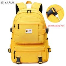 Backpack Children Schoolbag Oxford Teenagers Girls Large Waterproof Fashion Usb Mjzkxqz