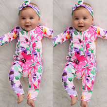 Baby Rompers Autumn Infant Baby Boys Gir
