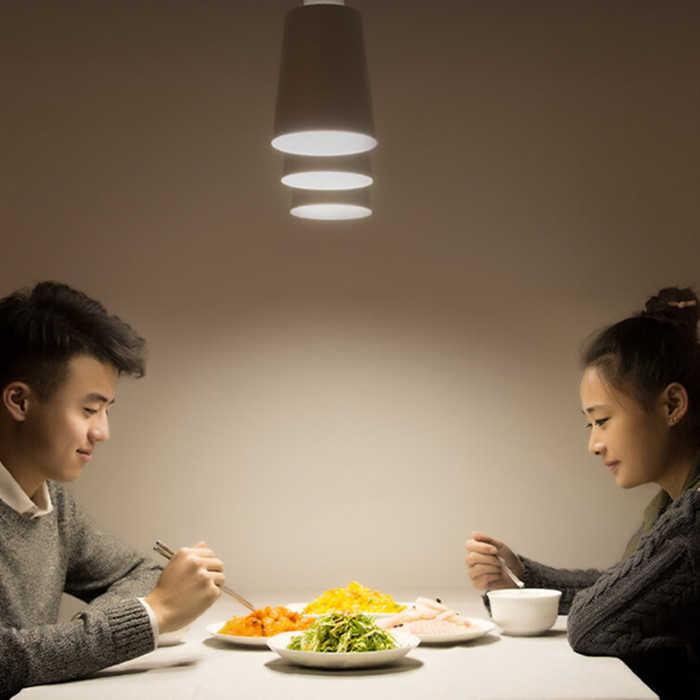YEELIGHT E27 LED הנורה 220-240V 5 W/7 W/9 W 6500K לתקרה /מנורת שולחן/מנורת 120 תואר LED Eye-הגנת מנורת 25000H תוחלת חיים