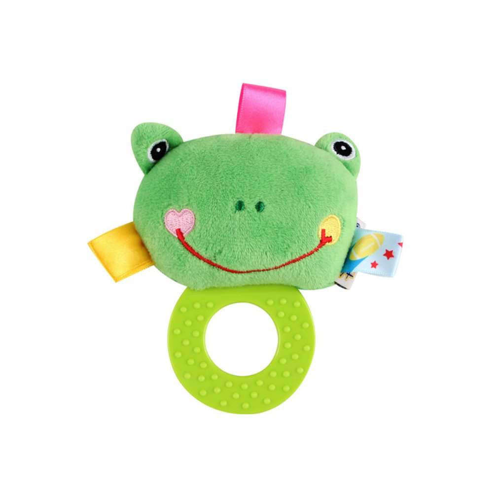 Baby Rattles Teether Toy Grab Shaker and Spin Rattle First Senses Shaking Bell Rattle Set for 3+ Months Infant