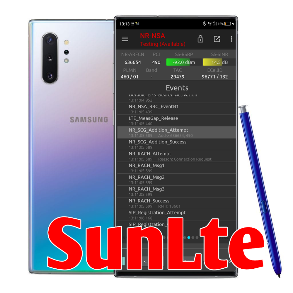 5G NSG Samsung Note 10+ N9760 5G,Free Parcels