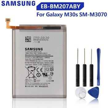 Original Samsung Battery EB-BM207ABY For SAMSUNG Galaxy M30s SM-M3070 Genuine Phone Battery 6000mAh цена 2017