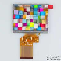 Pantalla LCD RGB de 3,5 pulgadas, resolución LQ035NC111, 320x240, brillo 300, contraste 400:1, venta directa