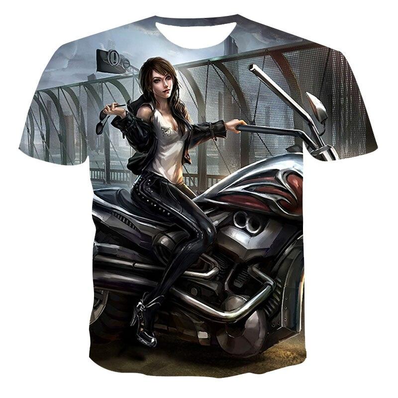 2021 Camiseta con estampado 3D del alfabeto para hombre, ropa de calle escocesa, XXS-6XL, de verano, con dibujos de animales