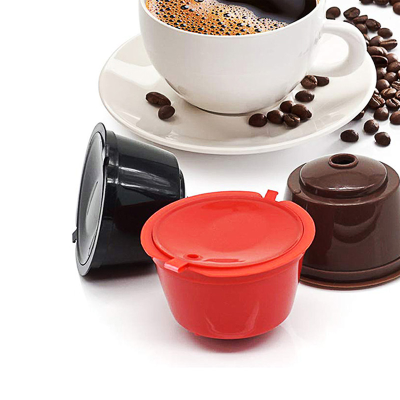 Dolce Gusto Refillable Coffee Coffee Flter Pods For Compatible For Nescafe Dolce Gusto Multicap Kitchen Accessories Cafe Tools