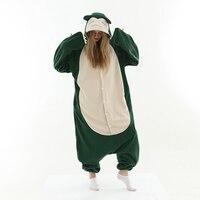 кигуруми для взрослых пижама кигуруми Костюм для взрослых, комбинезон, костюм животного для косплея, костюм Покемон Snorlax, комбинезон унисек...