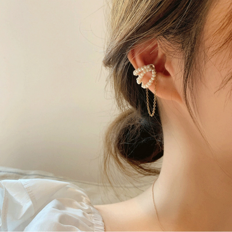 No Pierced Magnetic Ear Bone Clip