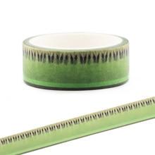 CA137 Kiwifruit Light Green Washi Tapes DIY  Painting paper Masking tape Decorative Office Adhesive Tapes Scrapbooking Stickers недорого