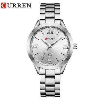 CURREN Gold Watch Women Watches Ladies 9007 Steel Women's Bracelet Watches Female Clock Relogio Feminino Montre Femme 8