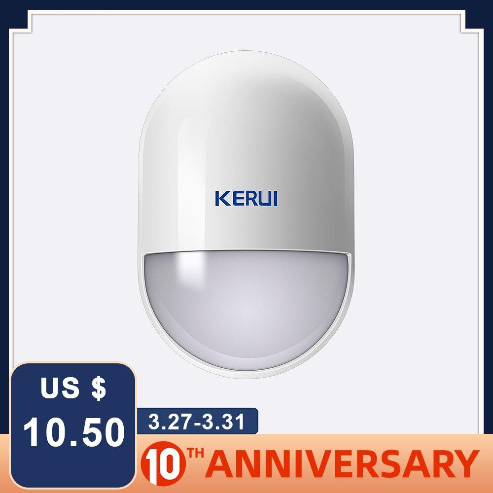 KERUI P829 Wireless PIR Motion Detector For GSM PSTN Home Security Alarm System Wireless 433MHz PIR Motion Sensor Indoor