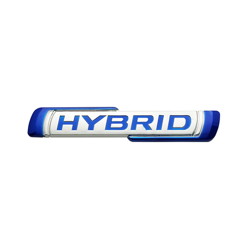 Гибридный логотип 3D ABS, эмблема кузова автомобиля, наклейка, украшение для Suzuki Solio, аксессуары, дизельный гибрид, новая версия, Стайлинг автом...