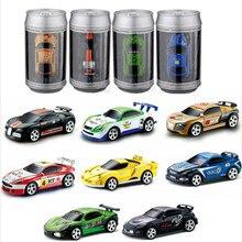 8 Colors 20Km/h Coke Can Mini RC Car Radio Remote Control Mi