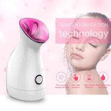 Steam Face Humidifier Facial Sauna Spa Nano Spray Water Deep Whitening Facial Steam Machine Moisturizing Cleaning Instrument hot selling new face mask steam massage beauty machine ion deep cleaning spray spray free shipping