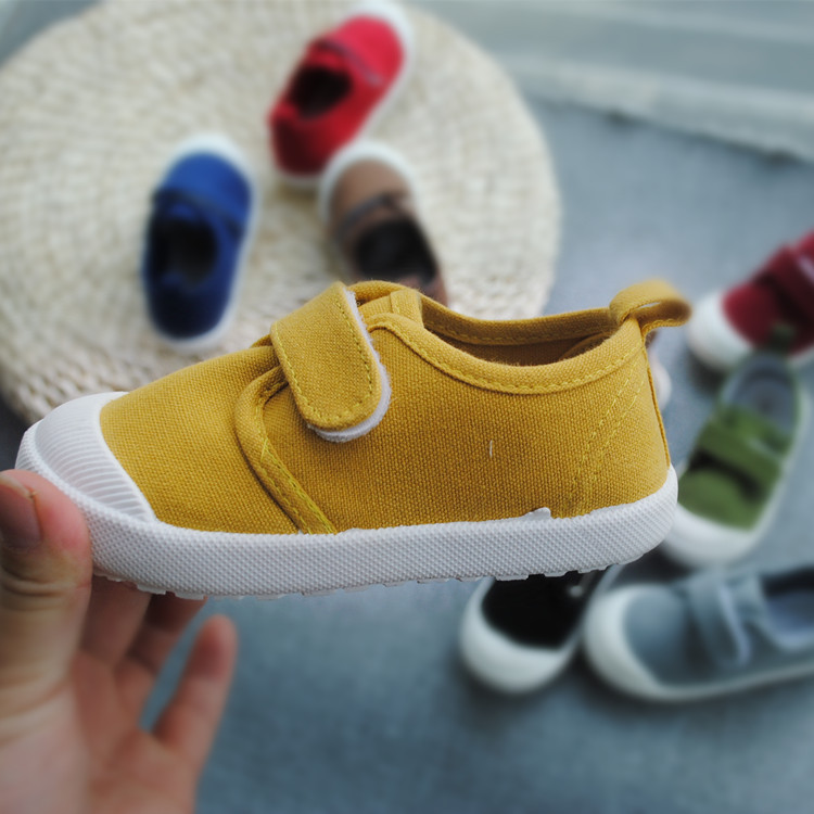 Image 5 - Spring Autumn 2020 New Childrens Water washed Canvas Shoes Boys and Girls School Casual Shoes Super Soft Comfortable SneakersSneakers   -
