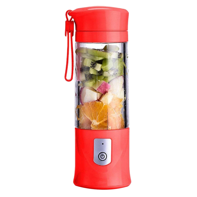 420ML USB Electric Safety Juicer Cup  Fruit Juice Mixer  Mini Portable Rechargeable/Juicing Mixing Crush Ice and Blender Mixer|Juicers| |  - title=