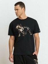 AMSTAFF T-Shirt Logo 2,0 Schwarz (1072BLK) Amerikanischen Stafford Druck Aufdruck(2)
