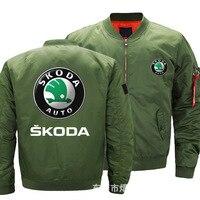 Mens Flying jacket Wintter Warm Slim Fiy Pilot jacket men Super for skoda HipHop Harajuku Mens Sweatshirt