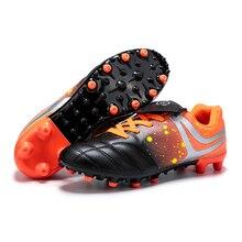 TaoBo 2020 Long Spike Kid Football Shoes Girl Men TF Turf So