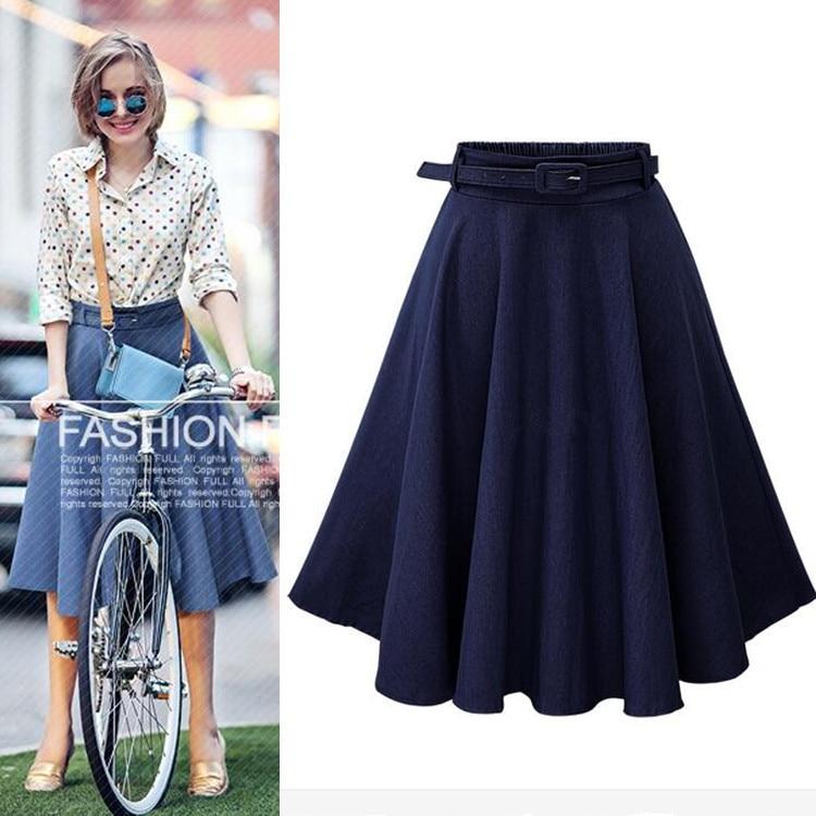 2019 Summer New Style Denim Skirt Belt (Ouma)