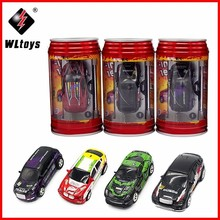 Wltoys 2015-1A Coke Can Mini RC Car Hot Sale 20KM/H Radio Remote Control Micro Racing Car Frequencies Toys For Boy Best Gift стоимость