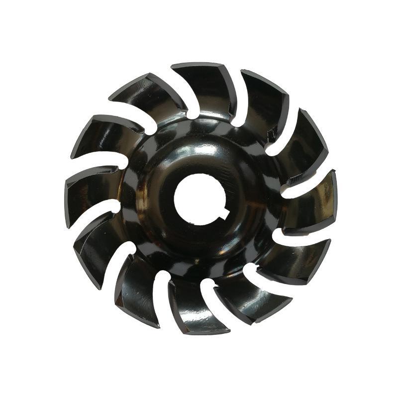 DishyKooker meuleuse d'angle électrique formant la lame outils de coupe de disque de sculpture sur bois 90mm/16mm - 2