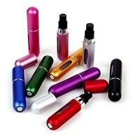 5ml Portable Mini Aluminum Refillable Storage Bottles Perfume For Traveler Women Gifts 1