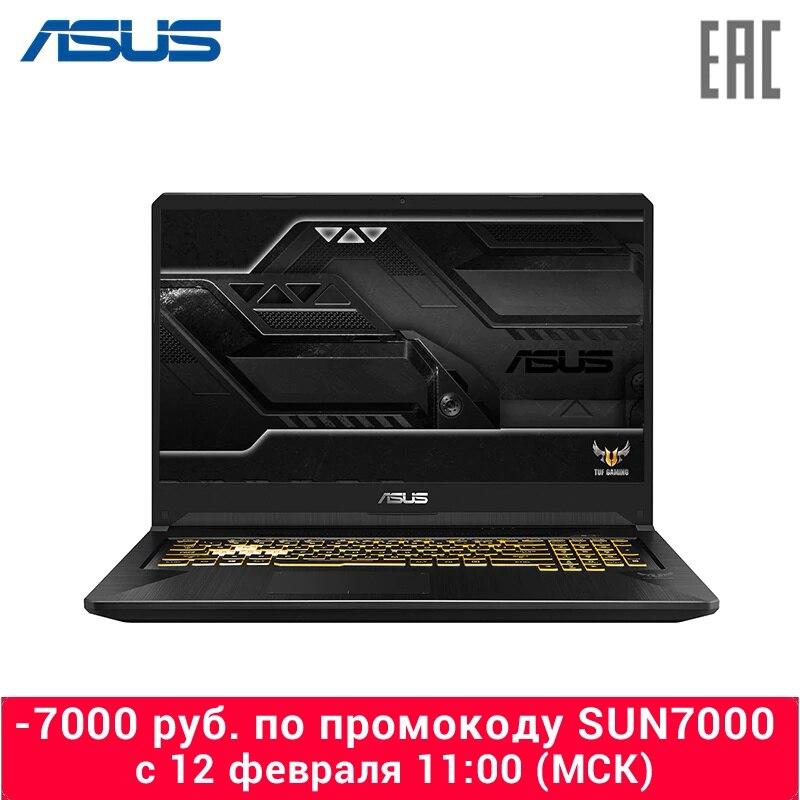 "Laptop ASUS FX705DU AMD Ryzen 7 3750 H/8 GB/1 TB + 256G SSD/17.3 ""FHD I/GTX 1660Ti 6 GB/WiFi/No OS Black (90NR0281-M01550)"