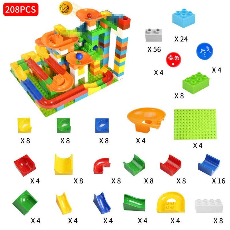grande diy blocos jogo de tijolo conjunto para crianças