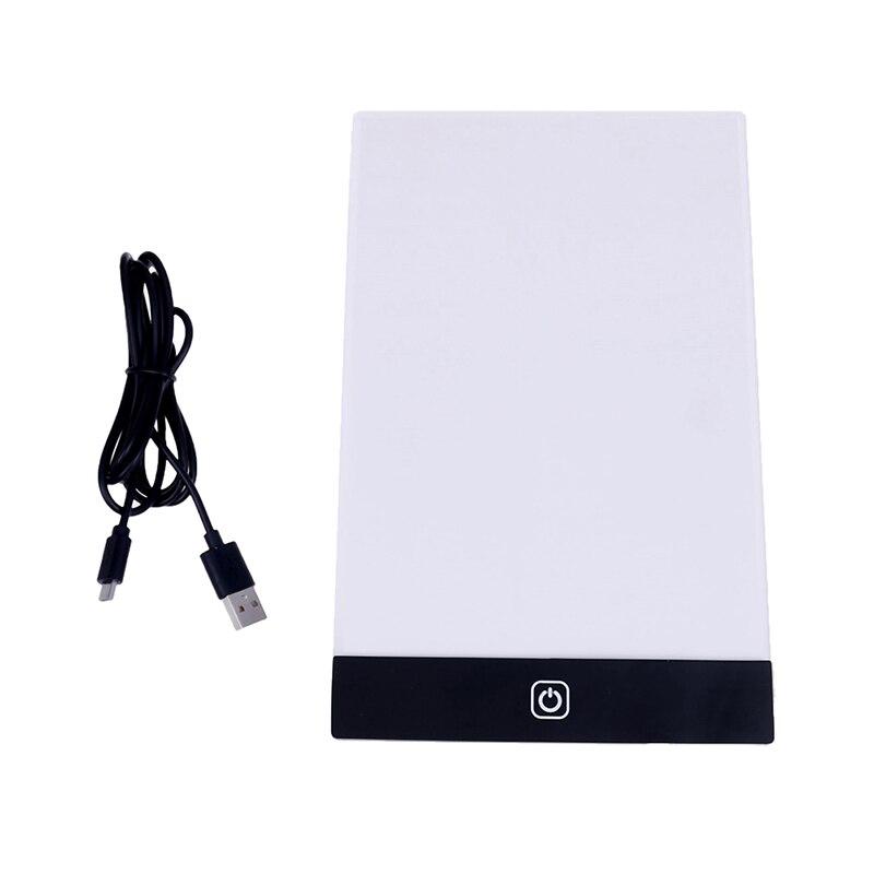 Ultra fino a5 led gráficos tablet desenho tablet placa de luz caixa de rastreamento mesa almofada pintura diamante ferramentas bordado