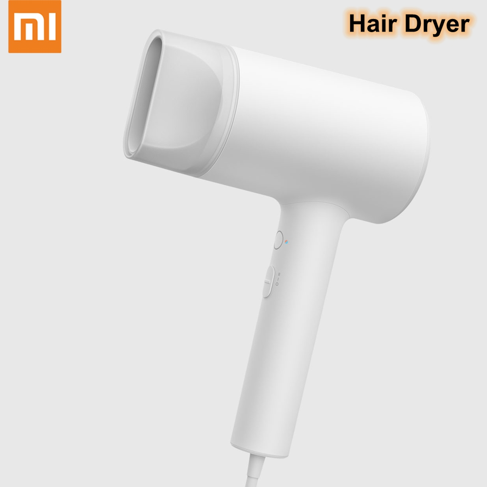 Xiaomi Mijia Hair Dryer Water Ion Nanoe 1800W Home Hair Care Professinal Quick Dry Anion Portable Travel Blow Hairdryer Diffuser