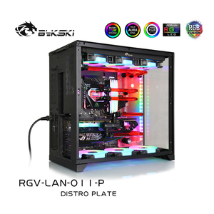 Image 2 - BYKSKI Acrylic Board Water Channel Solution kit use for LIAN LI O11 Dynamic Case / Kit for CPU and GPU Block / Instead reservoir