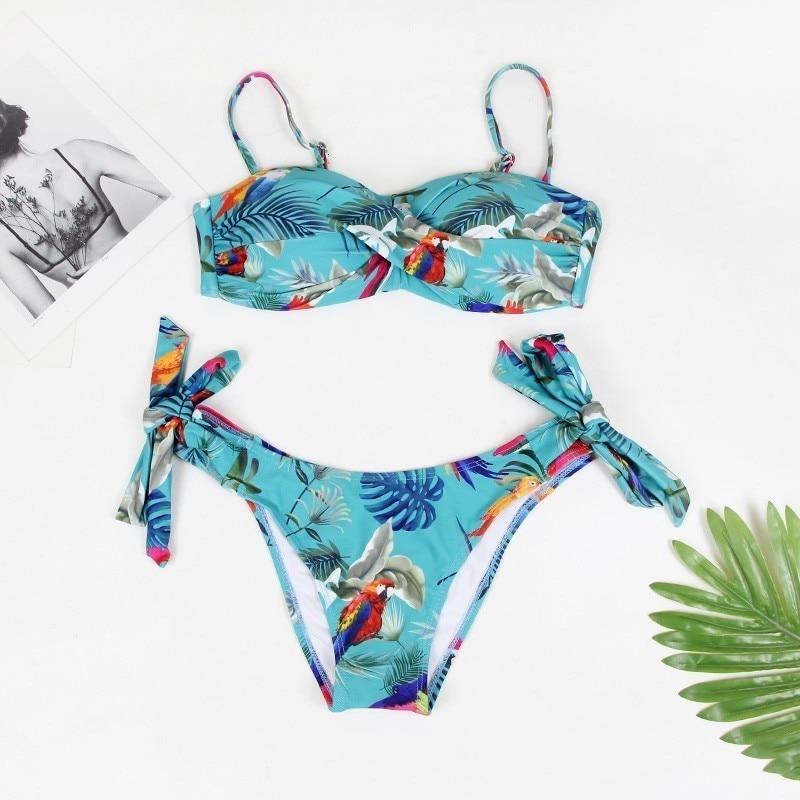 Сексуальный большой купальник пуш-ап бикини женский купальник размера плюс пляжный женский купальник бикини купальный костюм бразильский ... 18
