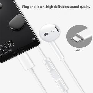 Image 4 - Original HUAWEI CM33 earphones Eerbuds USB TYPE C Microphone Volume Control for Mate 10 Mate 10 Pro P20 P20 P30 Pro