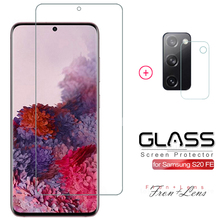 2 in 1 Tempered Glass For Samsung Galaxy S20 FE Fan Edition S20FE 5G 2020 Protective Film For Galaxy S20FE Screen Protector