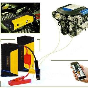 Image 2 - GKFLY חירום 600A רכב קפיצת Starter בנק כוח 12V נייד מכשיר התחלה רכב מטען לרכב סוללה בוסטרים באסטר LED