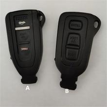 DAKATU 3 кнопки Smart Prox дистанционного ключа оболочки чехол брелок с невырезанным лезвием для Lexus LS430 замена ключа автомобиля оболочки чехол