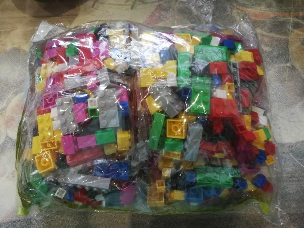 1000 peças diy blocos de construção conjuntos a granel cidade criativo clássico técnico criador tijolos montagem brinquedos educativos crianças